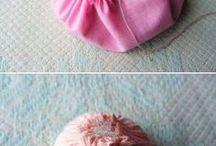 bonecas de feutro