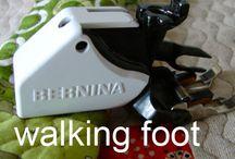 Walking foot tips