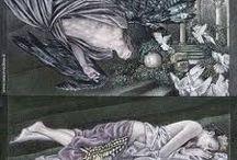 FARFALLE nelle OPERE D'ARTE / Opere d'Arte in cui è inserita nel contesto poetico una o più farfalle...motivo decorativo o anche simbolicamente molto significativo...