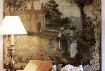 väggmålningar