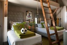 home design - kid and play rooms / by Michele VanOrden