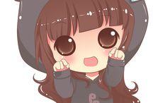 Anime Chibi Neko Girl