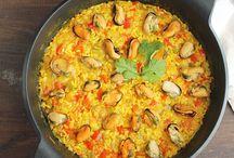arroz mejillones