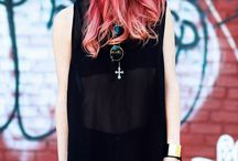 Colors ombré hair