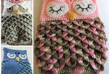 Knitting and crocheted patterns