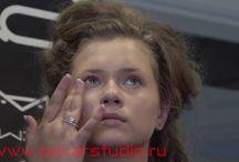 Мастер-классы визажистов, make up / Техника макияжа, make-up, makeup, трендовый макияж, модный макияж