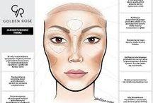 Konturowanie twarzy/backing