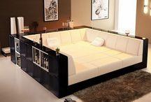 ベッドルーム ソファ