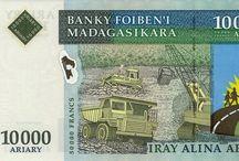 La monnaie malgache / Madagascar 1 euro vaut 3000 Ariary.