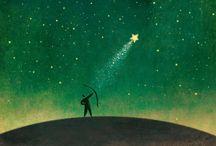 星  空アート