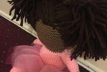 Dolls I learnt to crochet❤️ / Cute crochet dolls I learned from YouTube...