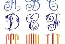 Fonts! / by Amy Yasuda