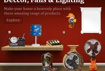Decor, Fans & Lightling / Its All about Home Decoration Products