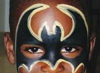 face paint/ costume