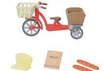 Sylvanian Families Przejażdżka Rowerowa z Mamą / Wyjątkowe zabawki dla dzieci marki Sylvanian Families