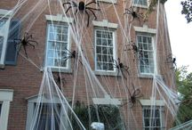 Halloween ideas / #Cool #halloween #ideas for #decorations and #parties. #spooky #scarydecor #indoordecor #outdoordecor #outdoor #indoor #scary #decor #haunted #haunting / by Jen Sparks