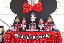 Minnie mouse feest