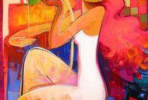 1) Figurative - Irene Sheri