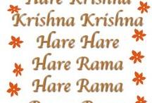 Hare Krishna and Hinduism  / Both my boys love Krishna and his brother Rama