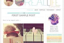 blog desing