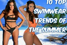 10 Top Swimwear Trends This Summer!!!!!! / 10 of the top swimwear trend this summer! Sexy swimwear, sexy bikinis, sexy one piece swimwear, luxury affordable bikinis, top trendy swimwear, cute bikinis, cute swimwear, cute beachwear, sexy beachwear!