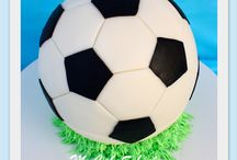 Soccer Party / Soccer birthday party ideas with invitations, birthday ball cake, cupcakes, party favors, football party games, DIY pinatas and heaps more. lots of supplies from Australia too.