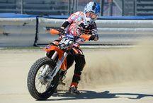 2014 DAYTONA Flat Track Doubleheader / Various photos from DAYTONA Flat Track rounds I & II at DAYTONA International Speedway / by AMA Pro Flat Track