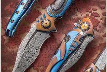 Knives and guns