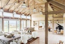 Beach house interior