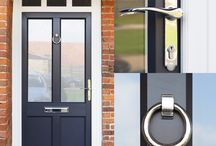 Storm Proof Doors / Our range of Stormproof doors offers you an exciting collection of designs. You will find our  selection of door designs will suit any property, regardless of the age or style, you just make it your own by the finishing touches and colours that you choose. westnorfolkglass.co.uk