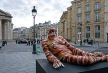 Kultura - paryskie rzeźby