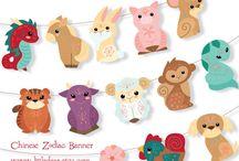 Chinese zodiac party