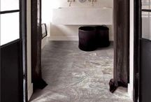 Natural Stone Look Tile / These porcelain tiles give you the look of a natural stone without the maintenance.