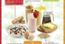 Healthy Start - Breakfast Ideas / Breakfasts to kick-start your day