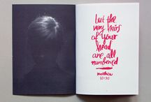 Editorial, book & zine design
