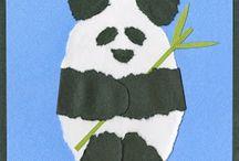 chine et panda