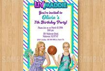 Liv and Maddie Birthday