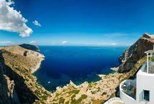 Breathtaking views in Greece