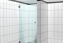 douche / douche deur & cabine voor nieuwe huis