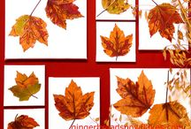 Fall, Harvest, Halloween / Crafts celebrating the fall season