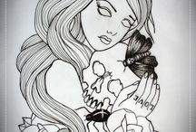 Flash and designs / tattoo flash and other artworks