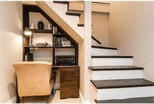 Under stairs office ides