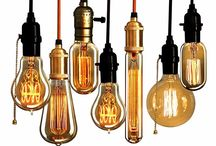 Bulb Vintage / The first creature of God was light.