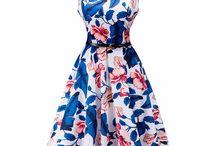 Women's Floral Dresses / 0