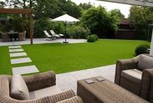 Tuin ontwerp en decoratie