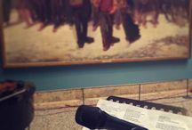 """""""Note al Museo"""" - Marco Mengoni per Che tempo che fa / Esibizione speciale del cantante #MarcoMengoni nella sala XXXVII della Pinacoteca di Brera, sabato 14 febbraio 2015."""