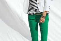 Colour pants