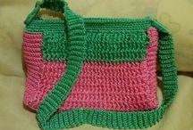 SHAFIQA CROCHET BAGS / Rp.240.000