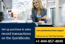 Quickbooks ContactSupport for all Quickbooks / Our team of experts is professionally trained to tackle all forms of Quickbooks errors and provide feasible solutions in stipulated time period related to initial install and setup of the software, update and upgrade to next versions and editions, Backup and restore of Quickbooks data in case of data loss etc. Our services are perfectly approachable for Quickbooks user residing in the USA, UK and Canada. [Call us: +1.844.857.4849]