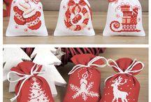 Keresztszemes minták / Karácsony